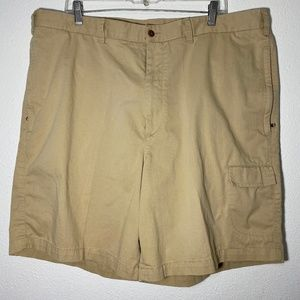 Tommy Hilfiger Mens Size 42 Khaki Chino Shorts
